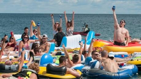 Port Huron Float Down St. Clair River Sarnia Ontario
