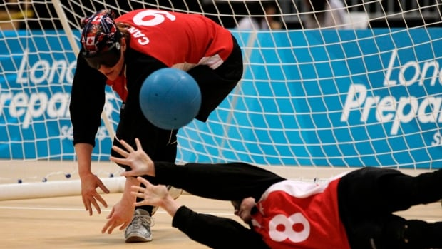 Canada's Nancy Morin, left, will lead the women's goalball team once again as they look to return to the podium at the Rio Games in September.