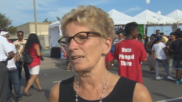 "Premier Kathleen Wynne says it would be ""very irresponsible"" to scrap the sex-ed curriculum her government introduced last year."
