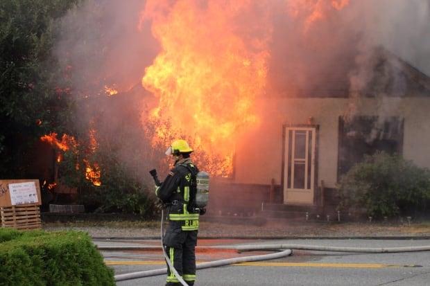 Grosvenor Road Fire Surrey
