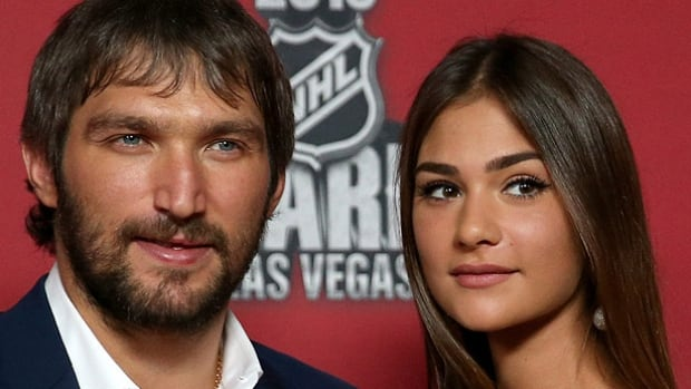 Alex Ovechkin marries Russian model Nastya Shubskaya   NHL on CBC     CBC
