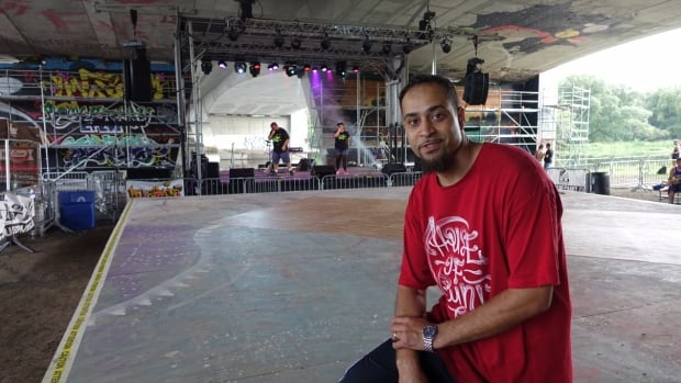 """Patrick McCormack is general manager of Ottawa's House of Paint hip hop festival and a longtime artist himself. He says hip hop, made up of rapping, DJing, breakdancing and graffiti, should be """"right in the middle"""" of the city's anti-gang strategy."""