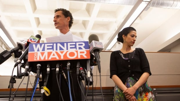 Huma Abedin, seen here in 2013, said in a statement she is separating from her husband, former U.S. congressman Anthony Weiner, after 'long and painful consideration.'