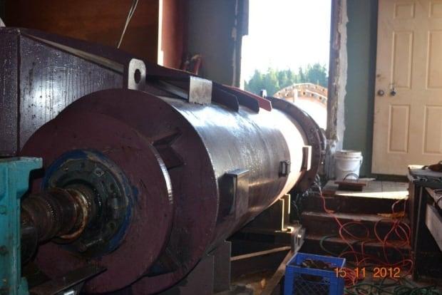 Mary's Harbour hydro turbine