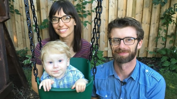 Kathleen and Ben Quiring can take their son outdoors to socialize with other people now that a medical trial has restored his immune system.