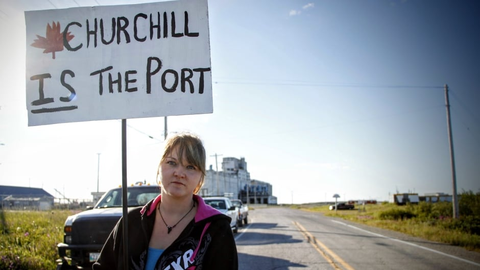 Kim Kushniryk worked for OmniTrax in Churchill for nine years before the port closed.