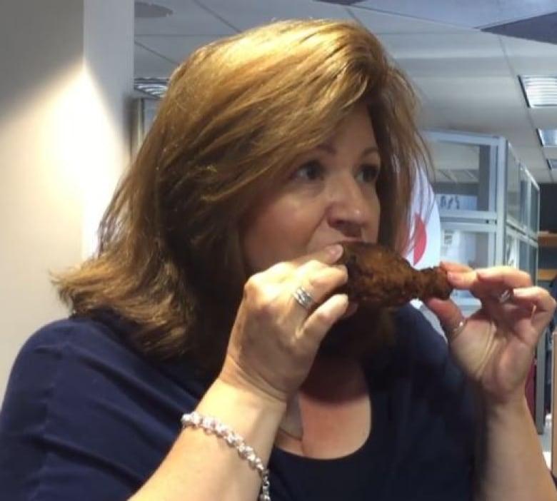 Julie Van Rosendaal makes KFC's leaked fried chicken recipe
