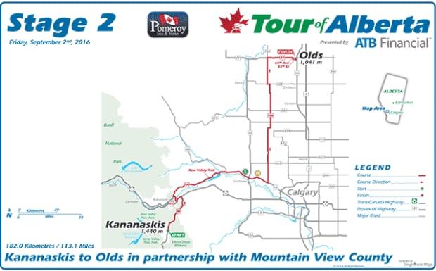 Tour of Alberta kicks off 5 days of road closures festivals
