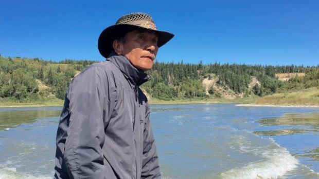 Alvin Moostoos, a band councillor on the James Smith Cree Nation.