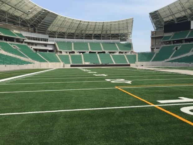 New Mosaic Stadium on Aug. 31, 2016