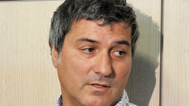 In this 2010 photo, Dr. Paolo Macchiarini talks to journalists during a press conference, in Florence, Italy. The Italian stem cell scientist was fired in March when Karolinska  Institute said he had supplied false information on his CV and was guilty of scientific negligence after two of his patients died.