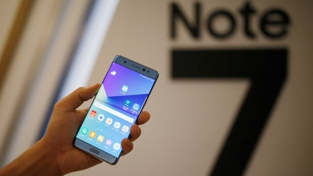The Galaxy Note 7 smartphone is the latest iteration of Samsung's Note series that feature a giant screen and a stylus. It launched on Aug. 19 in some markets, including South Korea and the U.S.