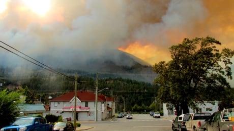 Lytton wildfire
