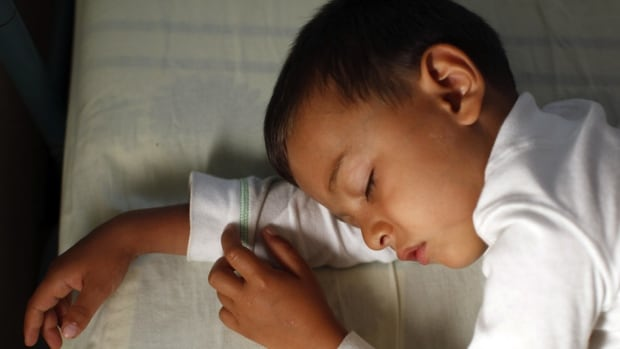 A UBC researcher says about a quarter of Canadian children have trouble sleeping, and that usually leads to sleep-deprived parents.