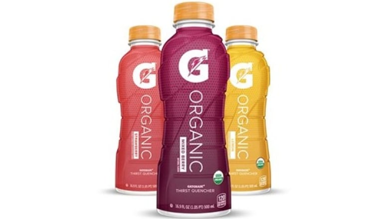 36491e001b7f Organic Gatorade is now for sale in the U.S. Health advocates say an  organic label doesn t mean it s good for you. (Gatorade)