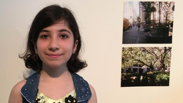 Twelve-year-old Barfin Shaiko is one of the artists in the exhibit Capturing Our Stories: An Exhibition of Syrian Children's Photography at the Interurban Art Gallery