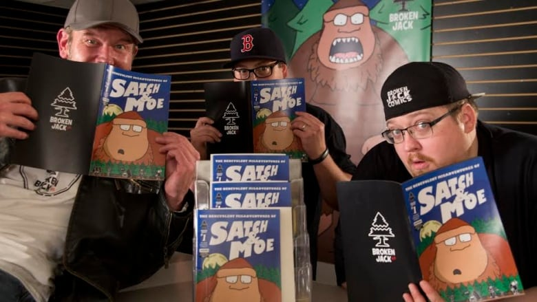 homegrown satch and moe comic book to debut at saskatoon comic and