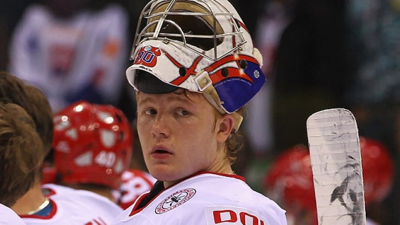 Maple Leafs Frederik Andersen Hurt In Olympic Qualifier