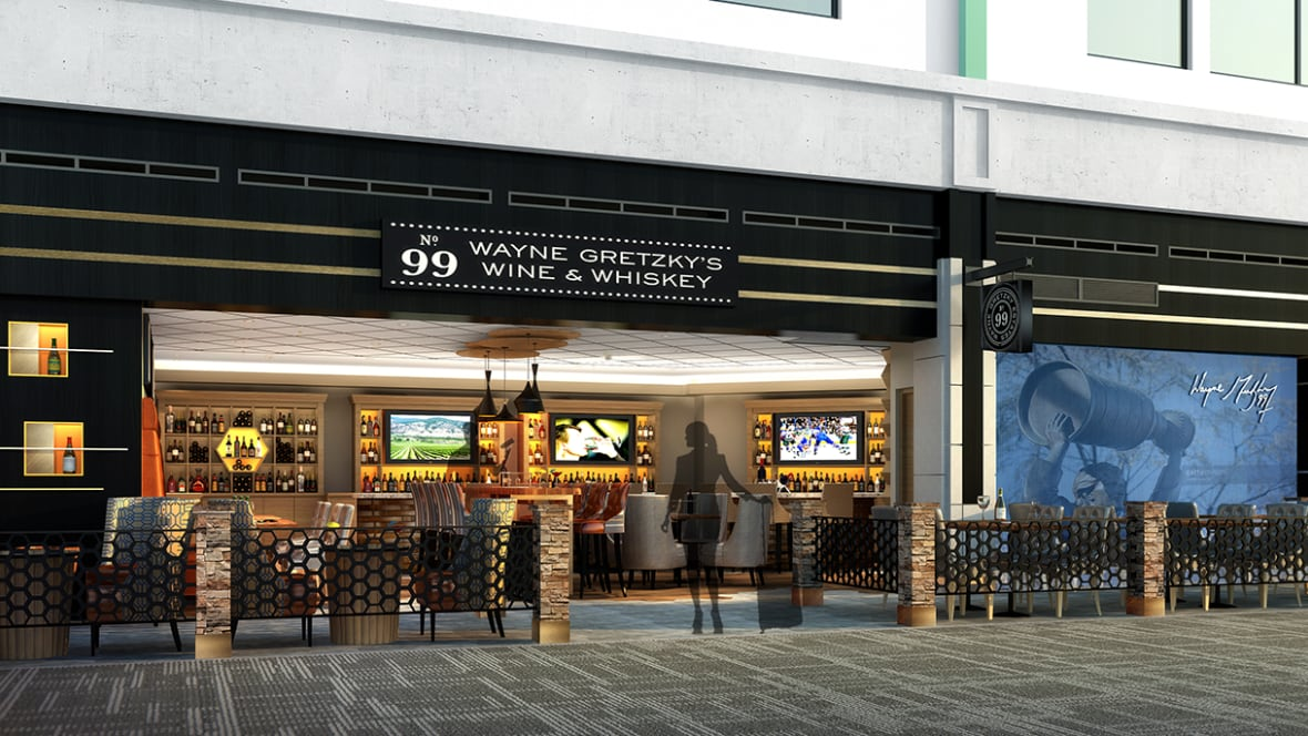 Gretzky Restaurant Edmonton