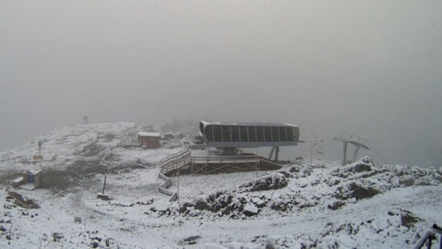 Whistler Blackcomb got about three centimetres of snow in the high alpine areas of the mountain resort overnight.