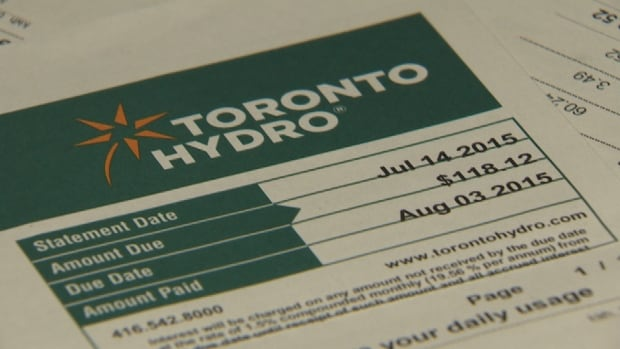toronto hydro bill