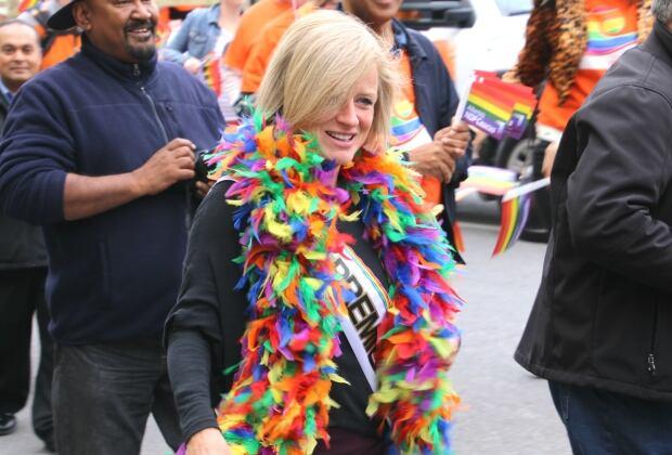 Calgary Pride Rachel Notley