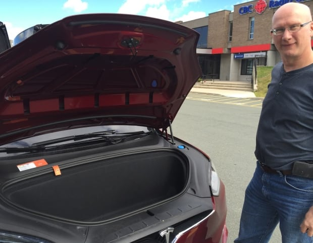 Jon Seary Tesla front trunk