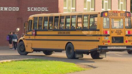 P.E.I. school bus