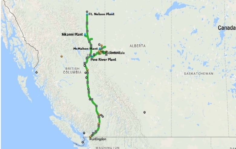 Enbridge set to take over most of B.C.'s gas pipelines | CBC ... on map of china, map of toronto, map of atlantic provinces, map of asia-pacific, map of canada, map of montana, map of united states, map of manitoba, map of los angeles freeways, map of rhode island state, map of méxico, map of edmonton, map of midwest, map of north west territories, map of quebec, map of ontario, map of argentina, map of australia, map of maryland/delaware, map of saskatchewan,