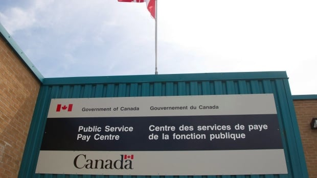 The Public Service Pay Centre is shown in Miramichi, N.B. The federal government spent more than $1 million sending workers to Gatineau, Que., for Phoenix training.