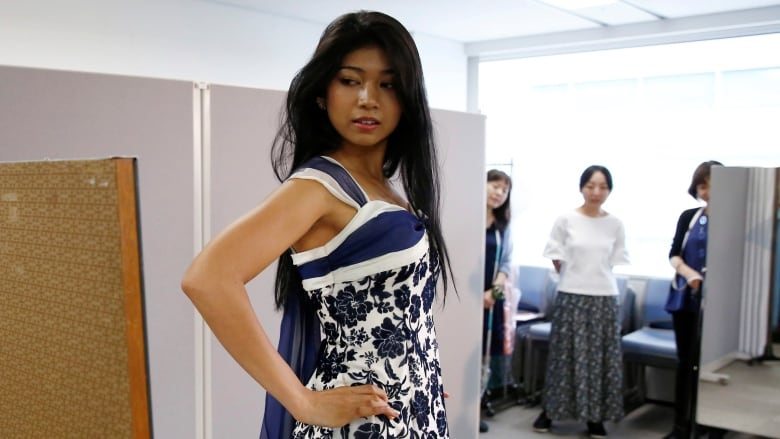 f9eb1ea8 Newly crowned Miss World Japan proud of Indian roots | CBC News