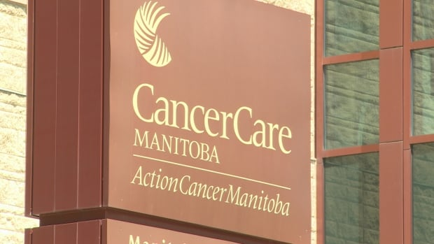 CancerCare Manitoba sign, Winnipeg
