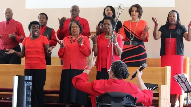 The Praise in Unity choir is an important part of the East Preston United Baptist Church.