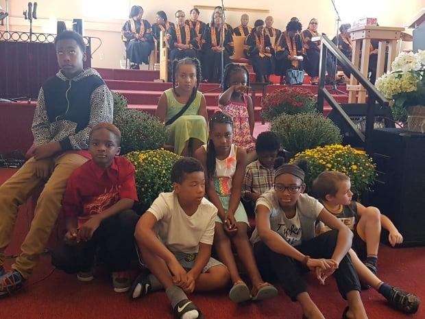 East Preston United Baptist Church youth
