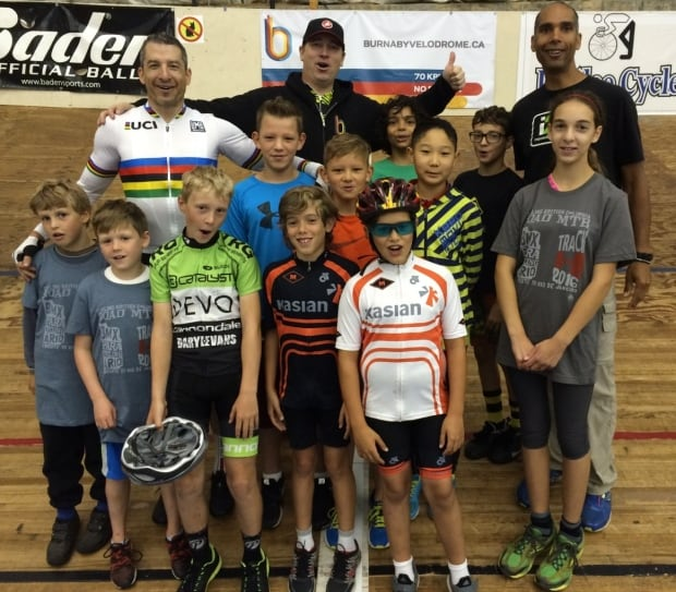 Tristian Chernove cycling kids camp