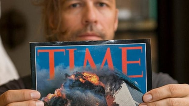 The cover photo of the Sept. 11, 2001 special edition of Time magazine was taken by Lyle Owerko, who was born and raised in Calgary.