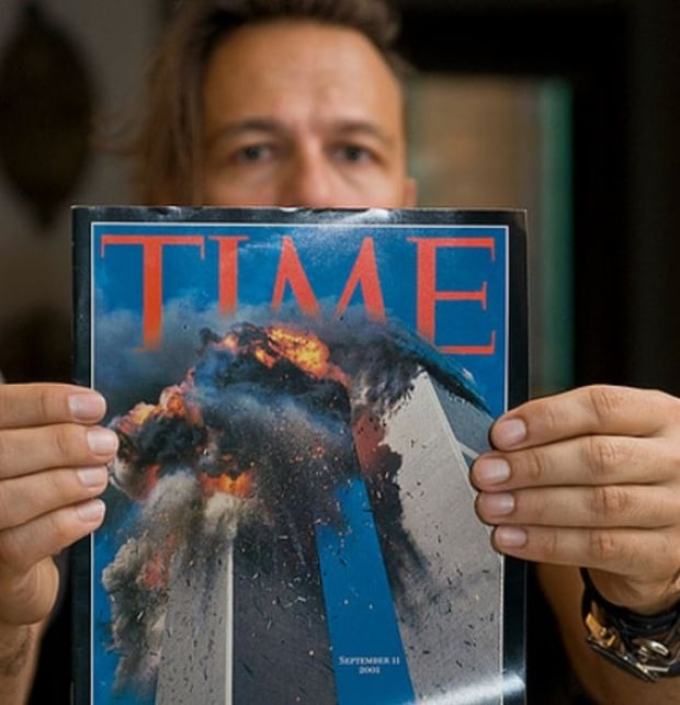 Lyle Owerko 9/11 Time cover