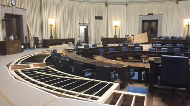 The Manitoba Legislature is getting more wheelchair accessible.