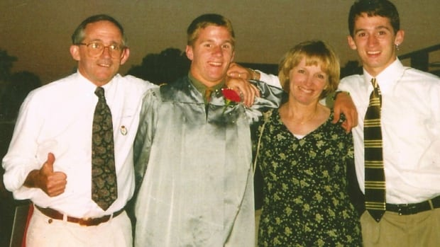 Robert McIlvaine, far left, shown in a 1997 photo with his family, including his son Bobby, far right, who died in the north tower of the World Trade Center on Sept. 11, 2001. McIlvaine has become a vocal 9/11 truth activist, rejecting the mainstream version of events about the attacks.