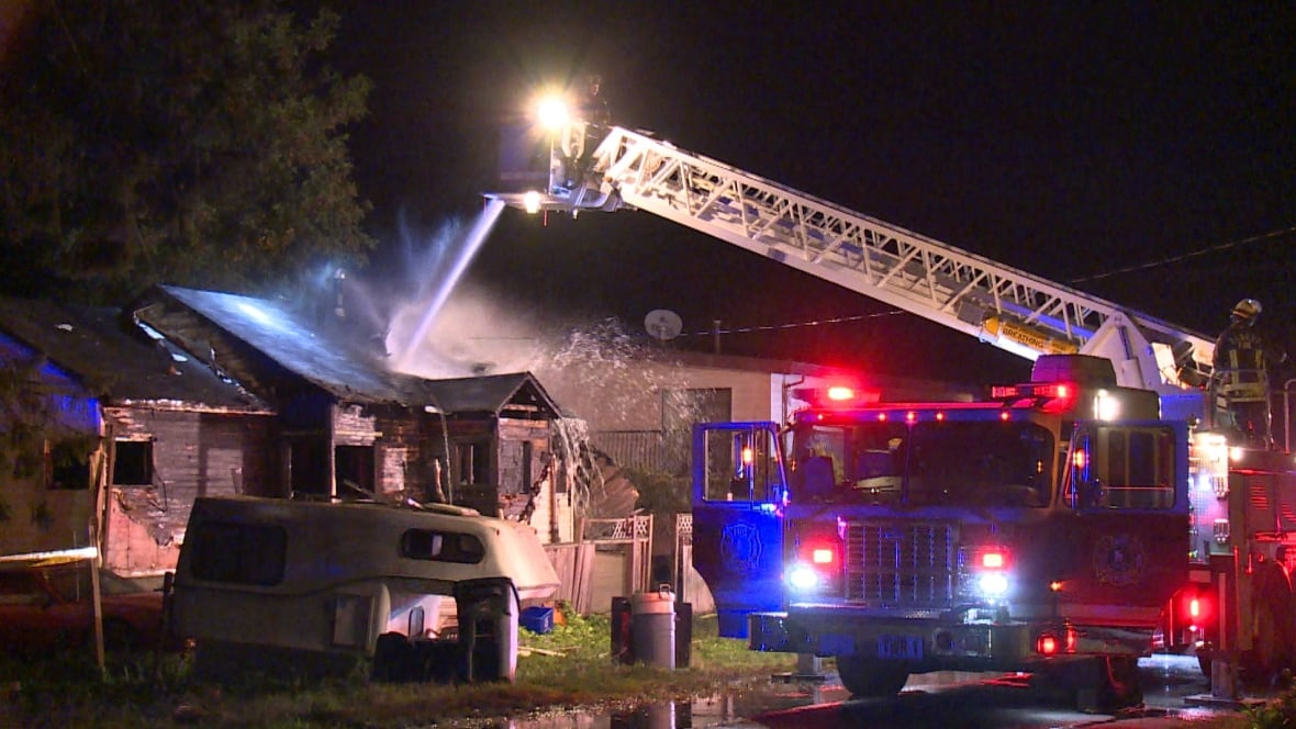 surrey house fire sends man to hospital burns british  surrey house fire sends man to hospital burns british columbia cbc news