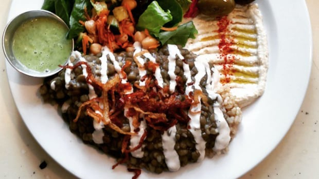 Next time you're at Nuba, don't get hung up on Najib's cauliflower. Try the mjadra too says the restaurant's chef.
