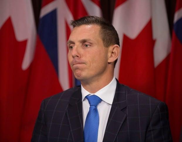 Ontario Progressive Conservative Leader Patrick Brown