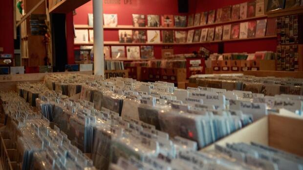 Vinyl shops