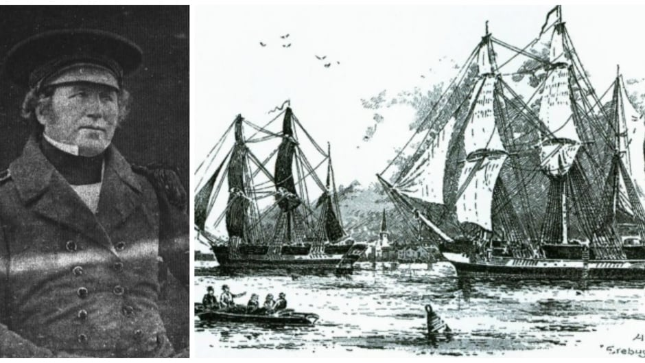 Francis Rawdon Moira Crozier was a British naval officer and captain of HMS Terror. Both the Terror and HMS Erebus were lost in the doomed Franklin Expedition.