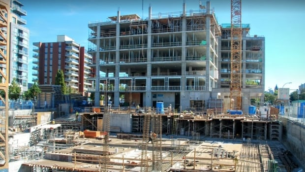 The construction industry is booming on Vancouver Island.