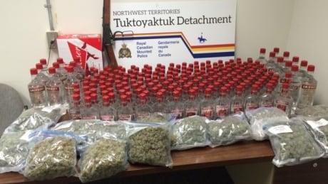 image of tuktoyaktuk liquor seizure
