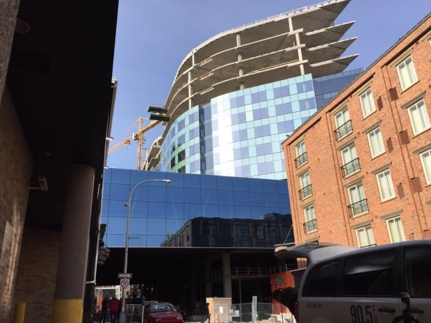 Nova Centre construction