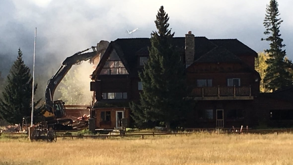 historic rafter six ranch demolished by new owners