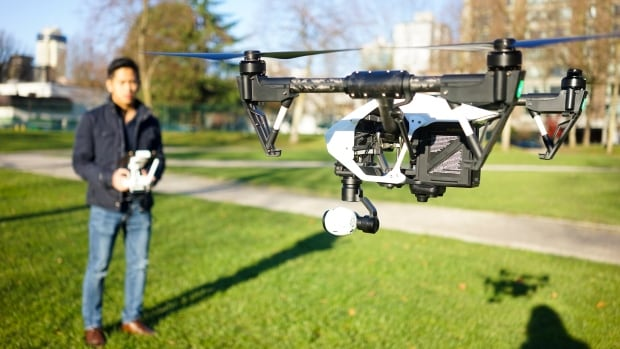 Amiel De Guzman, seen operating an Inspire1 drone by DJI, is a drone photographer and videographer from Vancouver. Commercial photography is one industry that has benefited from advances in technology that have brought down the price of drones.