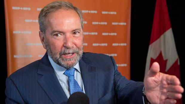NDP Leader Tom Mulcair could see his successor named as early as Sunday. Mulcair says he will leave confident that he helped secure a permanent base for the party in Quebec.